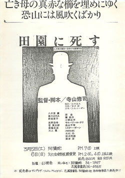 園に死す(阿彌陀/チラシ邦画)