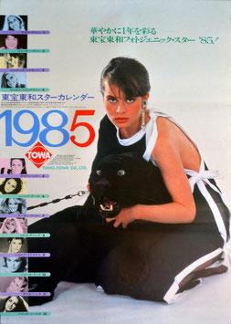 東宝東和スターカレンダー1985(ポスター洋画)