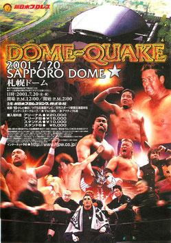 DOME-QUAKE/新日本プロレス・札幌ドーム(札幌ドーム/チラシ・プロレス)