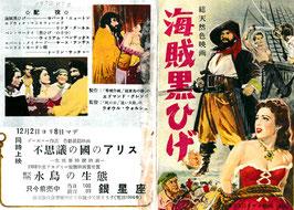 海賊黒ひげ(銀星座/チラシ洋画)