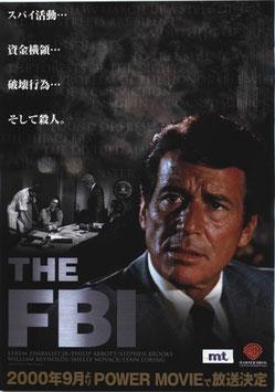 THE FBI(パワームービーチャンネル放送/チラシ洋画)