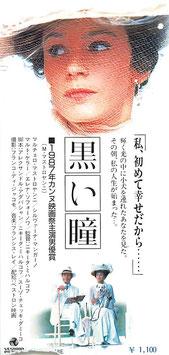 黒い瞳(映画半券・洋画)