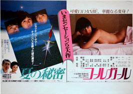 コールガール/夏の秘密(車内中吊りポスター邦画)