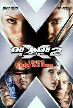 X-MEN2(韓国版/チラシ洋画)