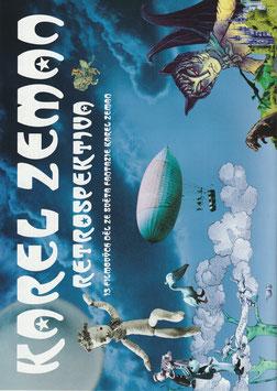 カレル・ゼマン レトロ・スペクティヴ(二つ折り4ページ/シアターキノ・チラシ洋画)
