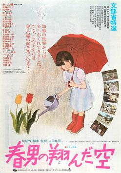 春男の翔んだ空(テアトロポニー/チラシ邦画)
