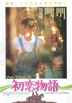 マット・ディロンの初恋物語(有楽町ニュー東宝シネマ1ほか/チラシ洋画)