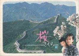桜 さくら(プレスシート中国映画)