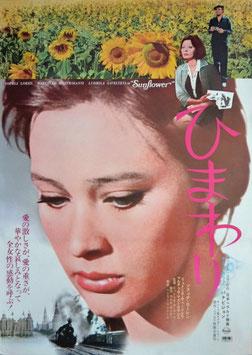 ひまわり(ポスター洋画/1974年日本ヘラルド)