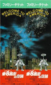 ニューヨーク東8番街の奇跡(ファミリー・チケット/ 映画半券洋画)