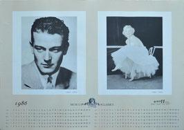 ジョン・ウェイン/マリリン・モンロー(1986年カレンダー/ポスター洋画)
