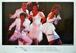 マンハッタン・トランスファー(1984年カレンダー/ポスター)