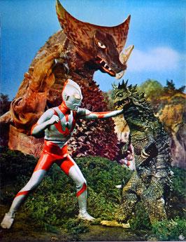 ウルトラマンVS宇宙怪獣ベムラー・古代怪獣ゴモラ(ポスター)