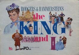 王様と私(アメリカ映画/プレスシート)