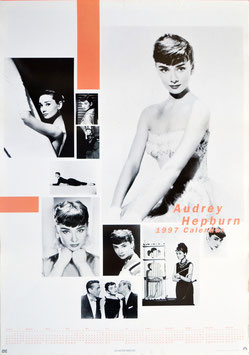 オードリー・ヘプバーン 1997年ポスター・カレンダー(ポスター洋画)