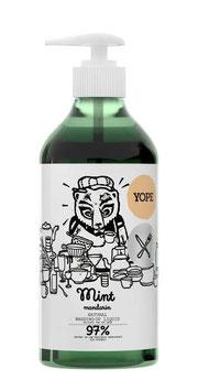 YOP-C-002 食器用洗剤 ミント & マンダリン