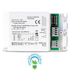 LED Multi DRIVER - Trafo 12V & 24V / 350MA/500MA/700MA, DIMMBAR
