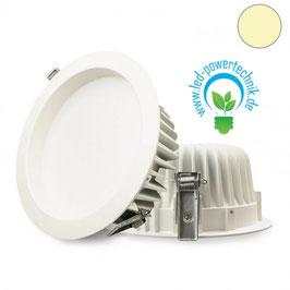LED Downlight 23W Diffusor weiss, warmweiss, dimmbar