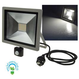 LED Fluter Home - Safety / 50W inkl. Bewegungsmelder, IP44, 3.400lm, 4000K neutralweiss