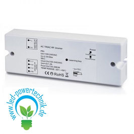 Sys-One Funk-Empfänger / Push-Dimmer, 0-10V Output, 230V