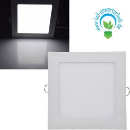 LED Licht-Panel 12W,  17X17cm  870 Lumen, 4200 Kelvin - neutralweiß