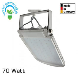 Germany 3-Phasen LED Strahler 70W 6000Lm 70° 5200K Grau