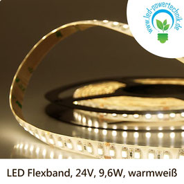 LED Stripes-Flexband, 24V, 9,6W, IP66, warmweiss - 111910