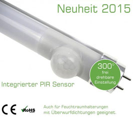 Fusion T8 LED Röhre mit PIR - Bewegungssensor 150cm 25 Watt, 2500lm