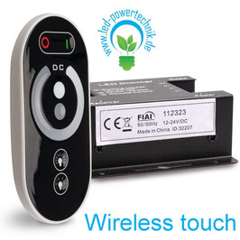 Wireless touch LED Dimmer, 12-24V, 432W