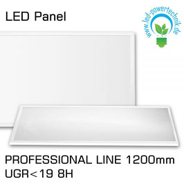 LED Panel Prof.- Line 1200 UGR<19 8H, 36W, Rahmen weiss, neutralweiss, DALI dimmbar