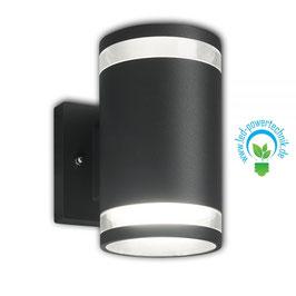 LED Wandlampe Up&Down IP54, GX53, anthrazit
