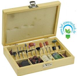 Polier- & Schleifstiftset, 100-teilig für Mini-Bohrmaschinen