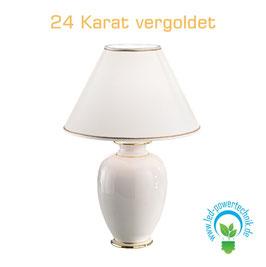 Tischleuchte GIARDINO, 24 Karat Gold, Höhe 43 - 24 Karat Gold, Ø30cm, 1-flammig, E27