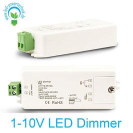 1-10V LED Dimmer V2, 1x8A, 12-36V/DC