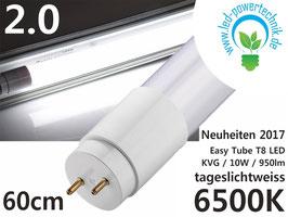 LED T8 EasyTube - 060cm, 10W, 950lm, 6.500K tageslichtweiss