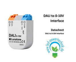 Dali Konverter | Einbindung von Leuchten mit 0-10V Steuereingang in ein DALI-System