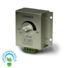 LED Dimmer 12-24V, 8A
