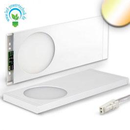 Sys-Slim LED Unterbauleuchte weiss, superflach, 6W, 12V/DC,8 Farben einstellbar