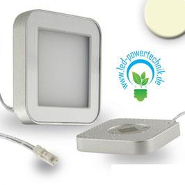 Sys-Slim LED Unterbauleuchte silber, eckig, magnet, 3W, 12V/DC, warmweiss