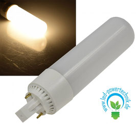 LED G24 HIGH LUMEN Leuchtmittel, 13 Watt, 1.080lm, warmweiss