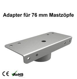 Adapter für 76 mm Mastzöpfe für LED Neptun - Flutlicht / Fluter