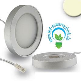 Sys-Slim LED Unterbauleuchte silber, rund, magnet, 3W, 12V/DC, warmweiss
