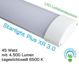 LED Lichtbandsystem Starlight Plus XR 3.0  - 45 Watt, tageslichtweiß 6500 K 4500 lm