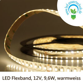 LED Stripes-Flexband, 12V, 9,6W, IP66, warmweiss - 111908