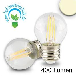 E27 LED Illu, 4W, klar, warmweiss, dimmbar