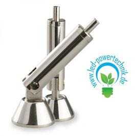 Deckenbaldachin-Gelenk-Gripper für LED Profile, 2er Set, Stahl