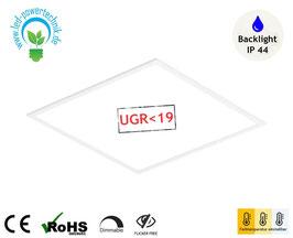 LED Backlight Panel 120x30cm / 36 Watt / 4.000lm / IP44 / Farbtemperatur frei wählbar - warm, neutral & tageslichtweiss