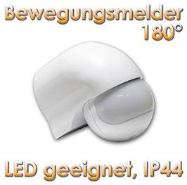 """Bewegungsmelder für LED """"CH01"""" mit 180°, weiß, IP44"""