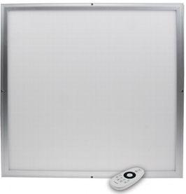 LED Licht-Panel W, 62x62cm Lichtfarbe & Lumen per FB regelbar, bis 4000lm (je nach Farbtemperatur)