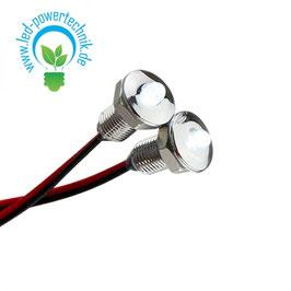 LED Lichtpunkt 12V, kaltweiss, 2er Set